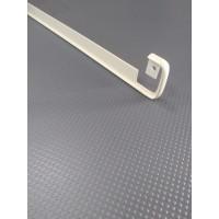 Стикова планка для стільниці LUXEFORM пряма колір RAL1015